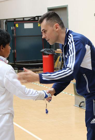Our Coaches Dream Fencing Club