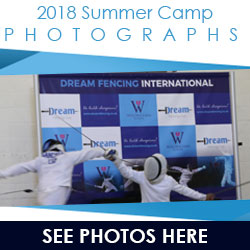 fencing summer camp photos banner