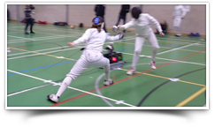 dream fencing physical and mental exercise image