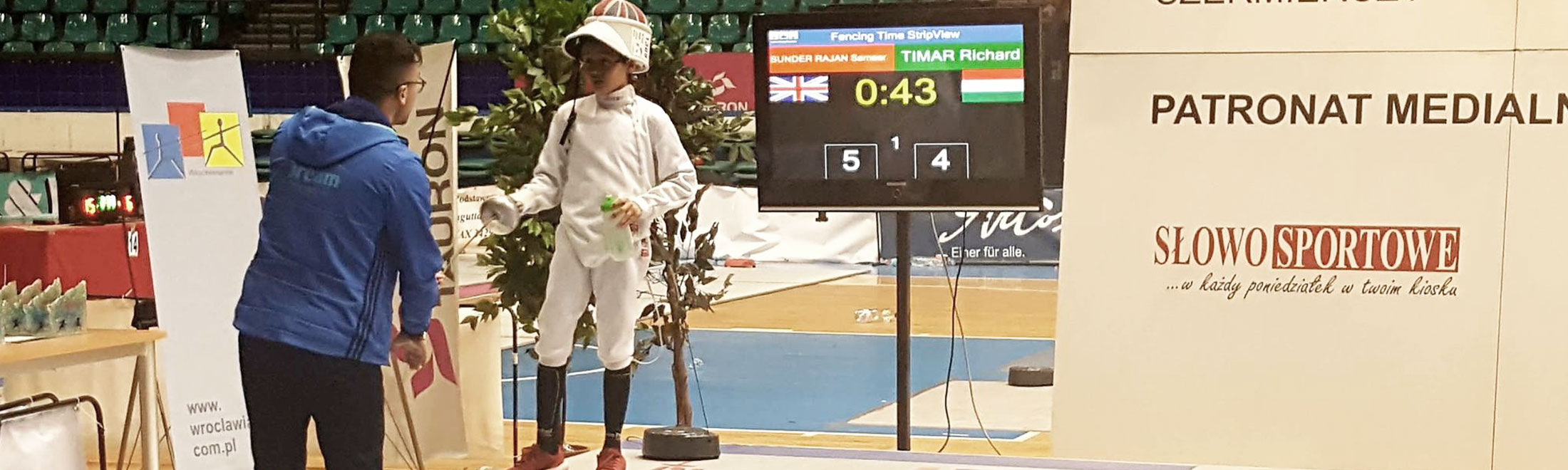 dream fencing international epee competition.