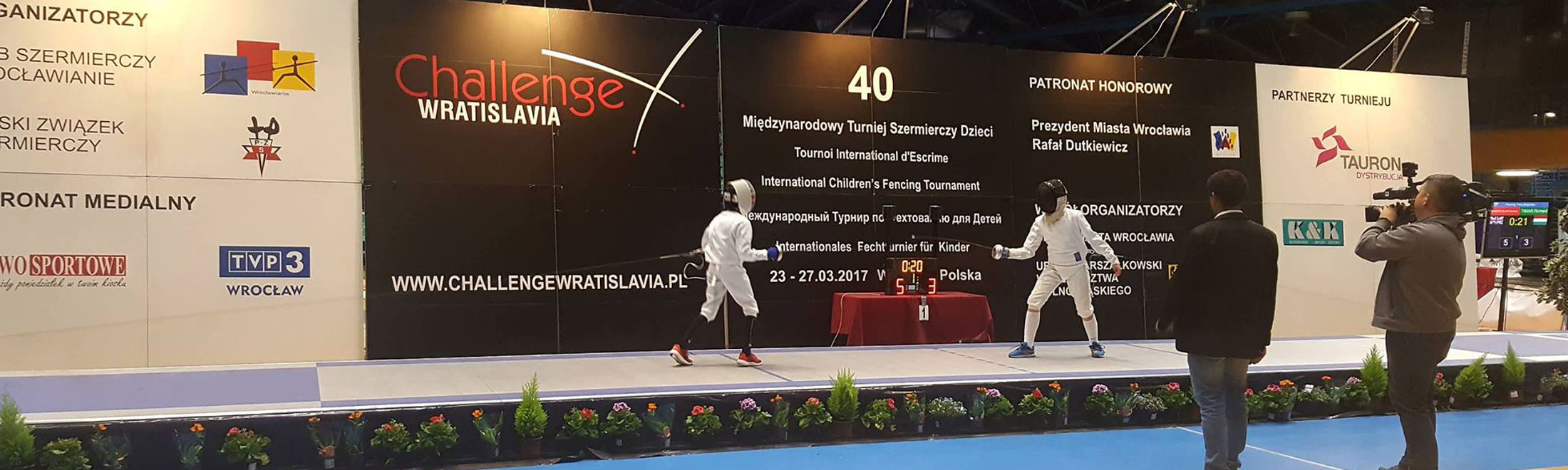 epee international competition.