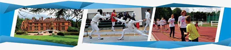 fencing summer camp banner